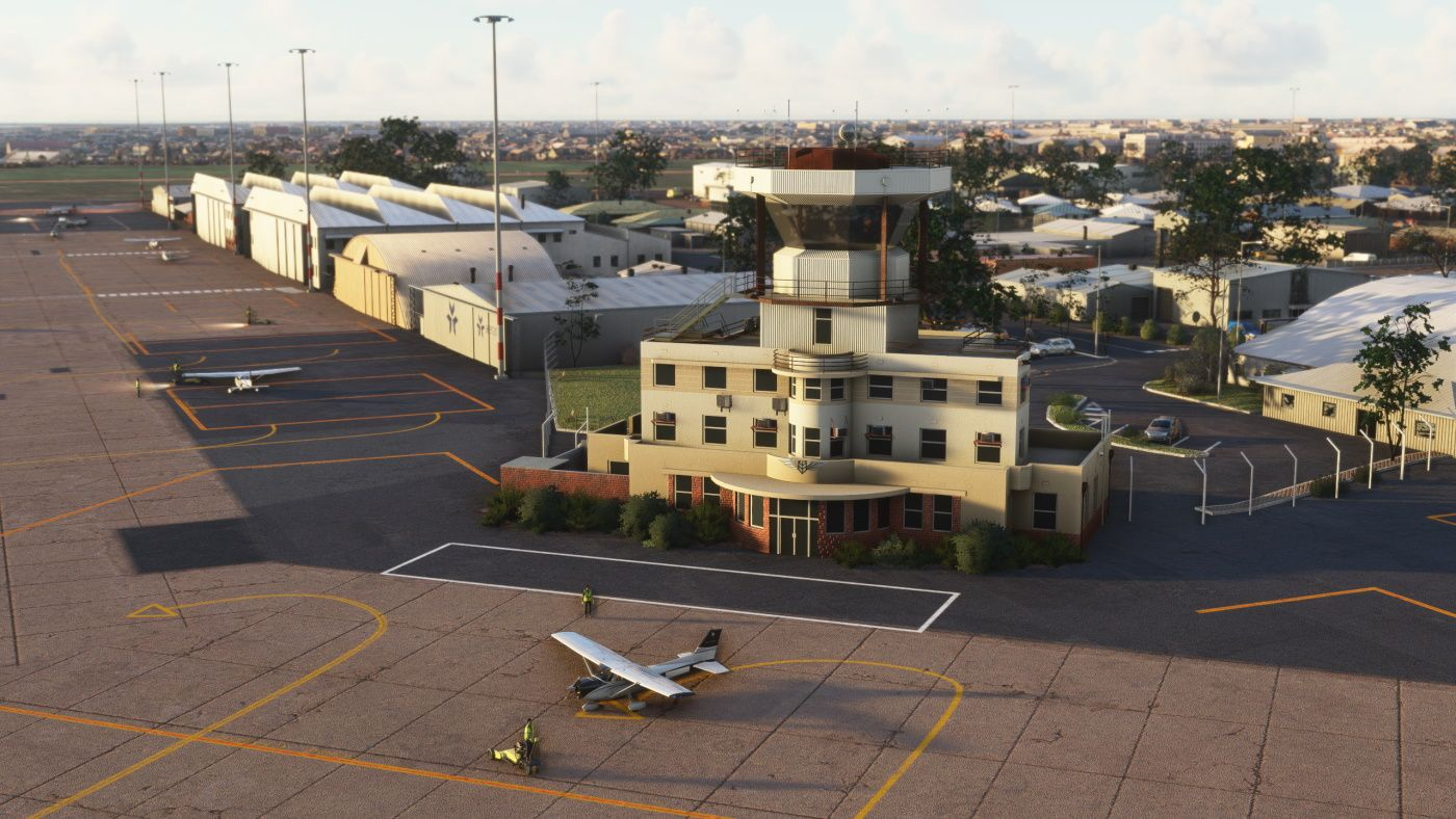 MSFS YPPF Parafield Airport