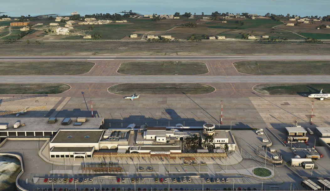MSFS LGSR Santorini (Thira) International Airport