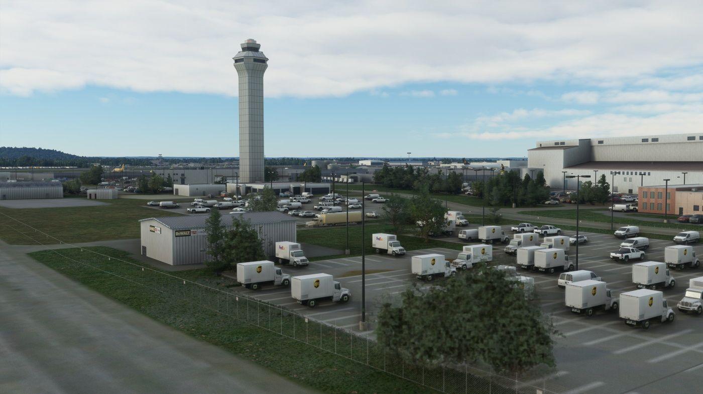 MSFS KSDF Louisville International Airport