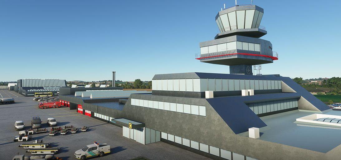 MSFS LOWL Linz Airport