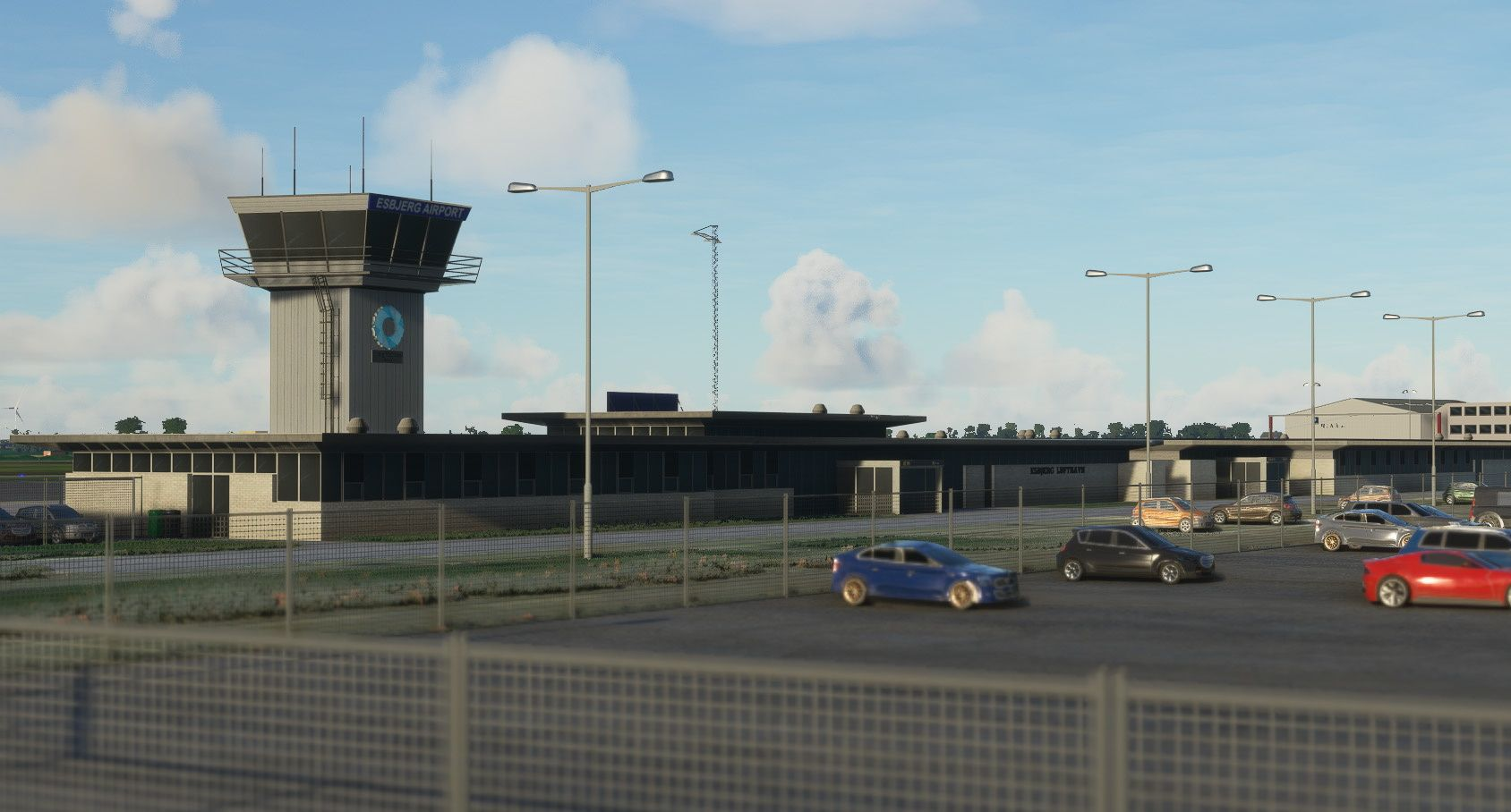 MSFS EKEB Esbjerg Airport
