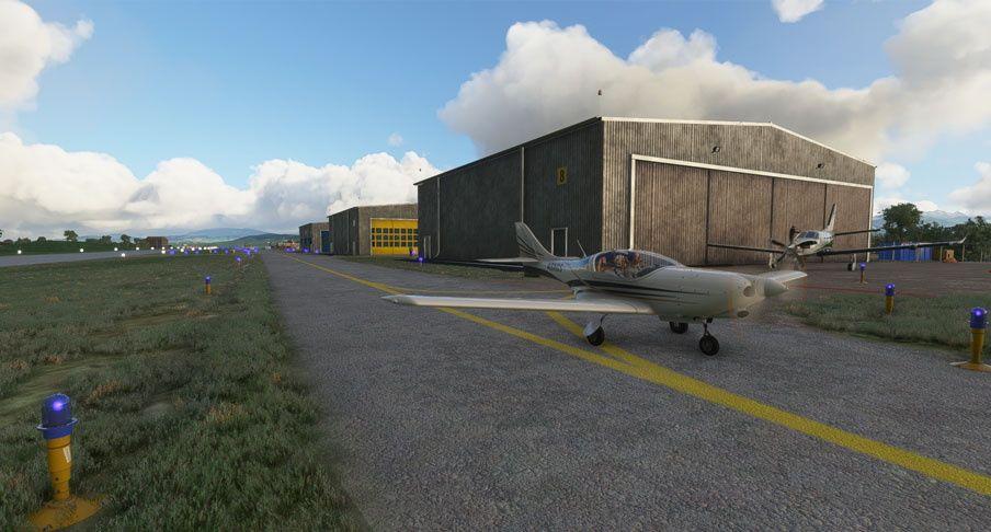 MSFS LSGE Ecuvillens Airport