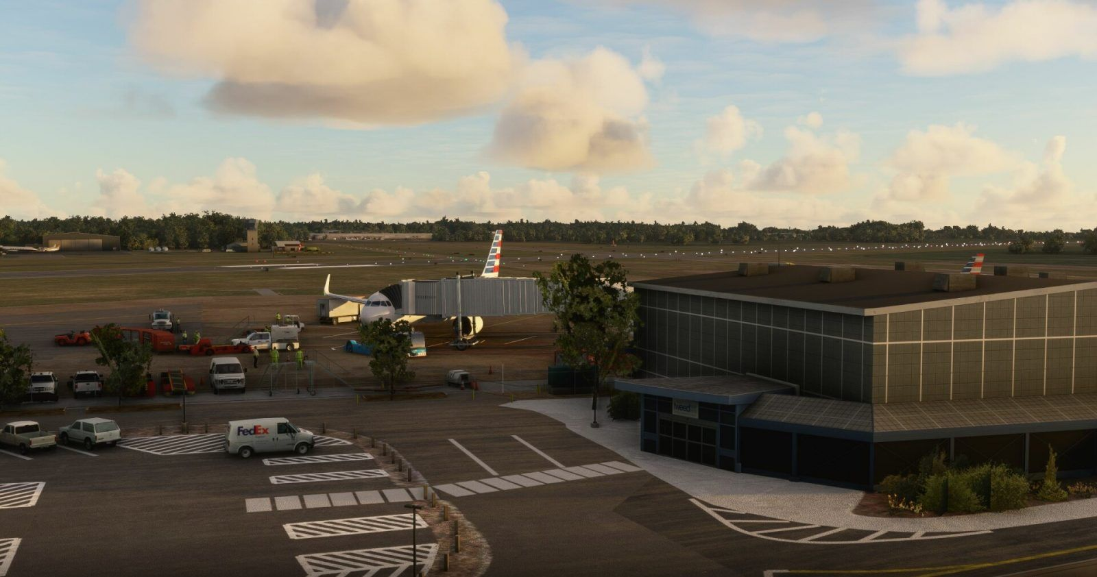 MSFS KHVN Tweed New Haven Airport