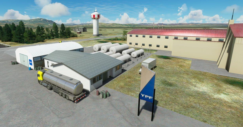 MSFS SAZS San Carlos de Bariloche Airport