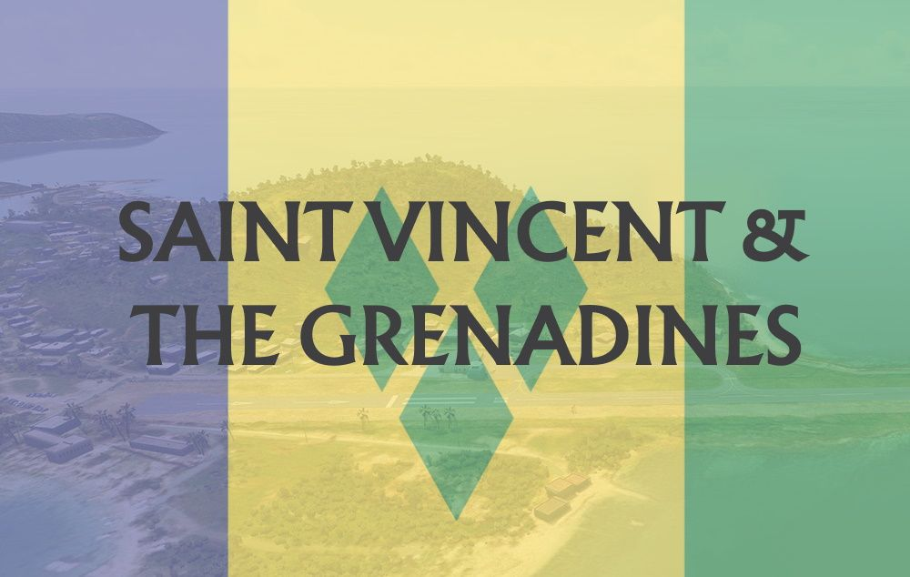 MSFS Saint Vincent and the Grenadines Airports