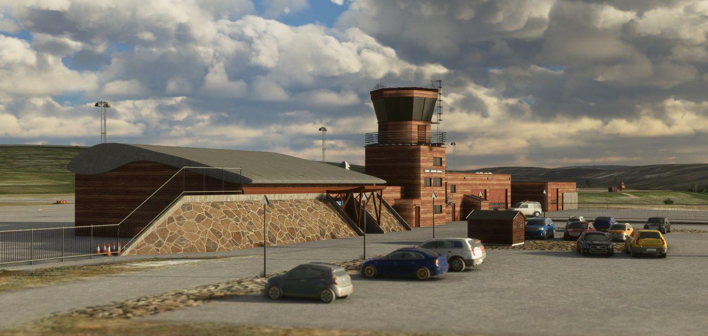 MSFS ENBS BÃ¥tsfjord Airport