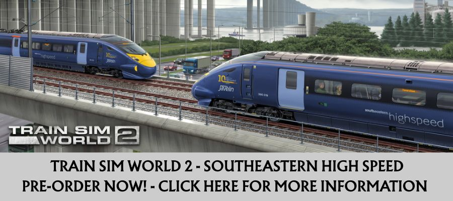 Clickable image taking you to the Train Sim World 2: Southeastern High Speed product page.