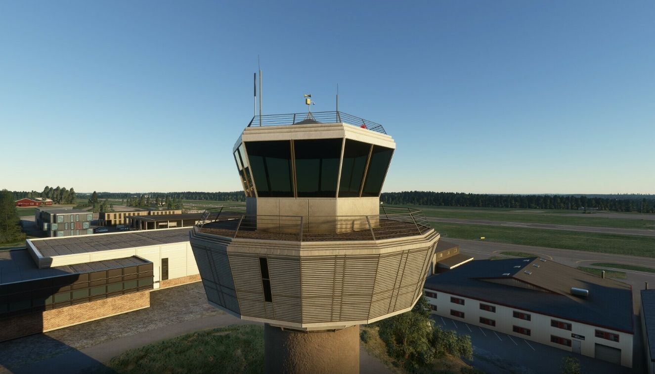 MSFS ENTO Sandefjord Airport