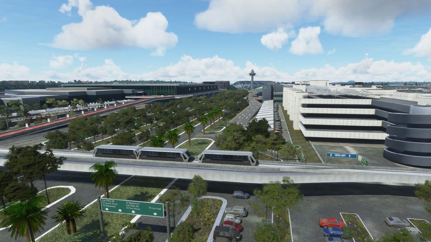 MSFS WSSS Changi Airport