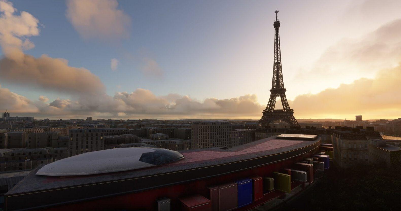 MSFS Paris Landmarks