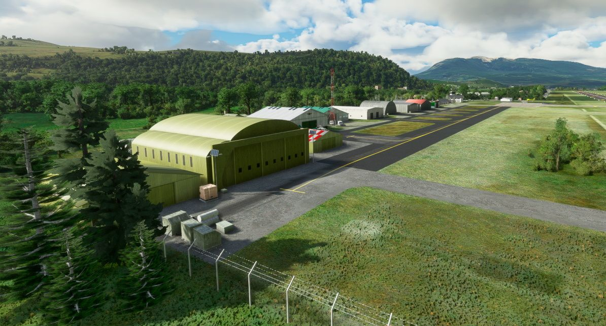 MSFS SCCY Teniente Vidal Airport