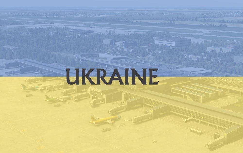 MSFS Ukraine Airports