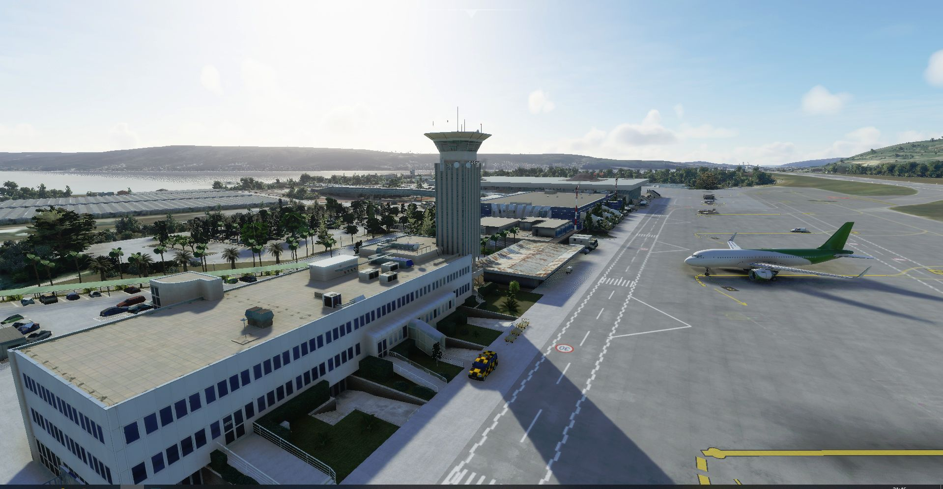 MSFS LDSP Split Airport