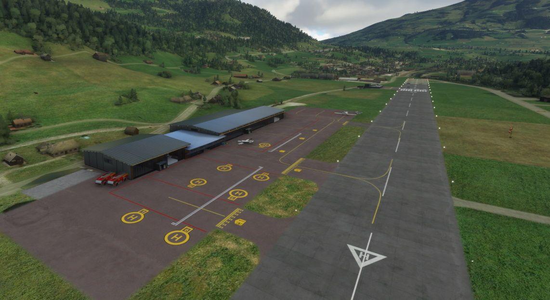 MSFS LSGK Gstaad Saanen Airport