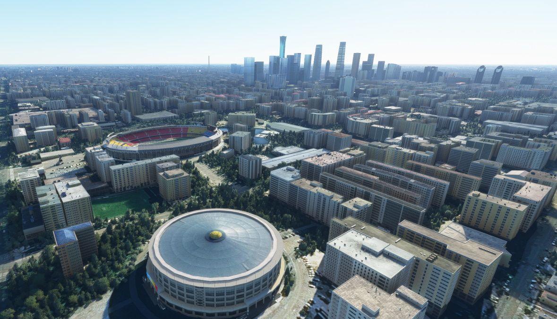 MSFS Beijing Landmarks