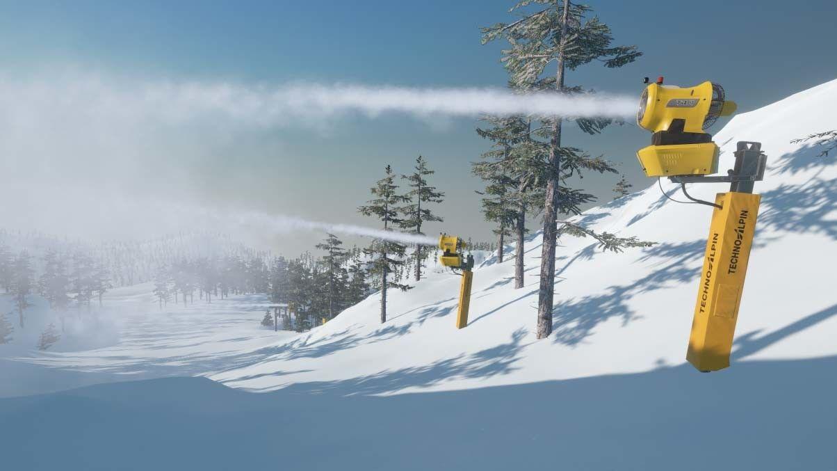Winter Resort Simulator Season 2 - TechnoAlpin - Snow Expert Pack