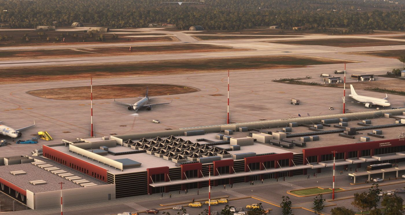 MSFS LGSA Chania International Airport