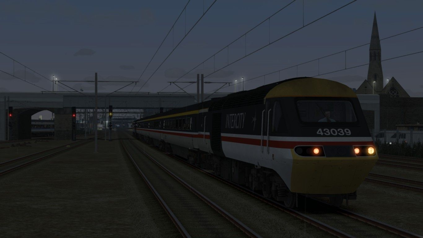 Image showing screenshot of the 1A00 - 0600 Leeds to London Kings Cross scenario