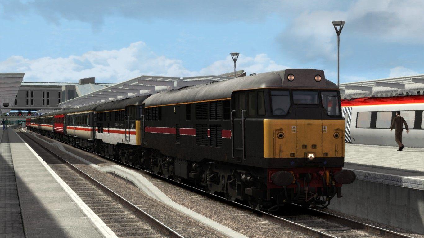 Image showing screenshot of the 1Z31 - 0832 Birmingham New Street to Preston scenario
