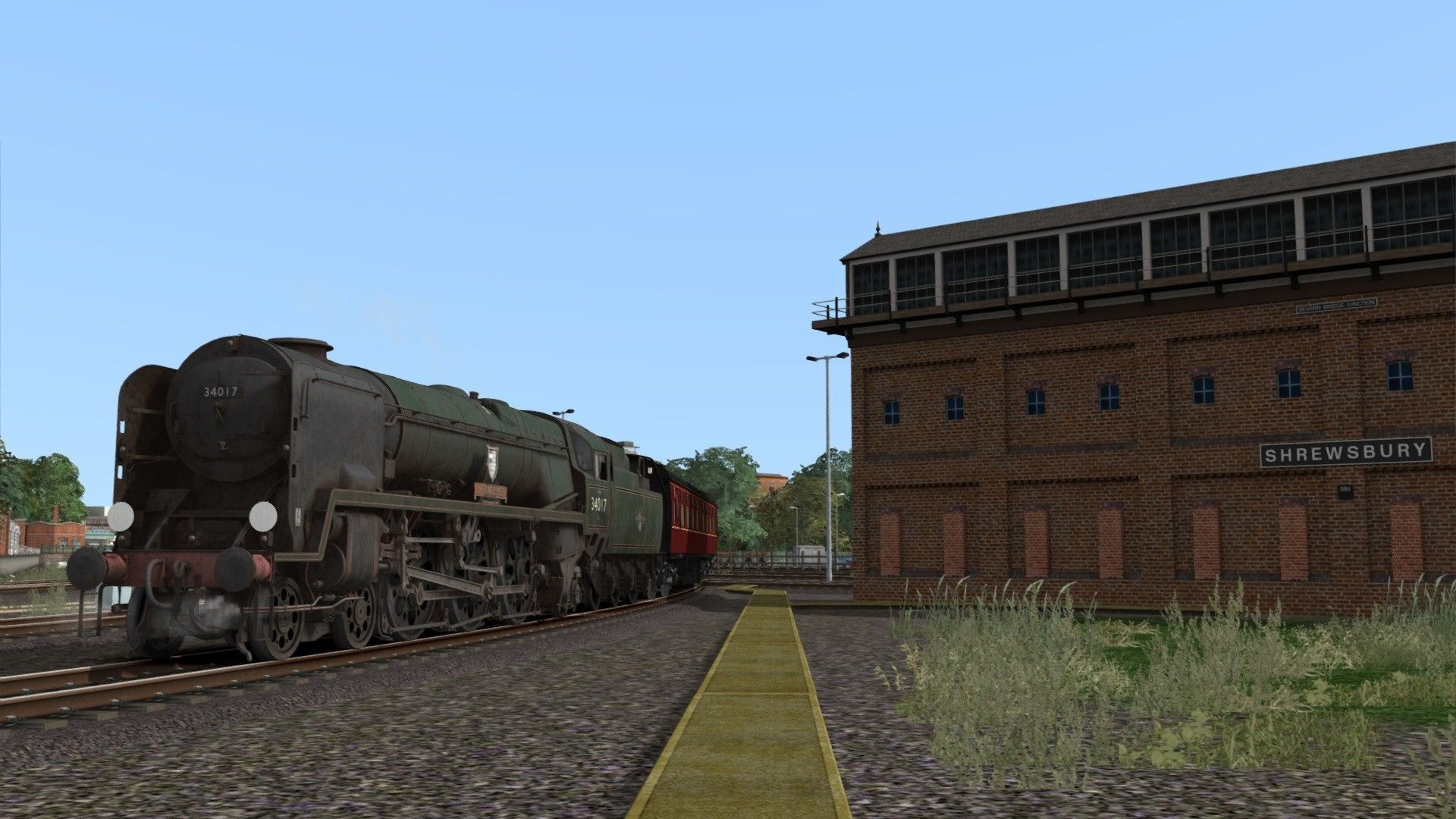 Train Simulator BR Rebuilt West Country & Battle of Britain Class