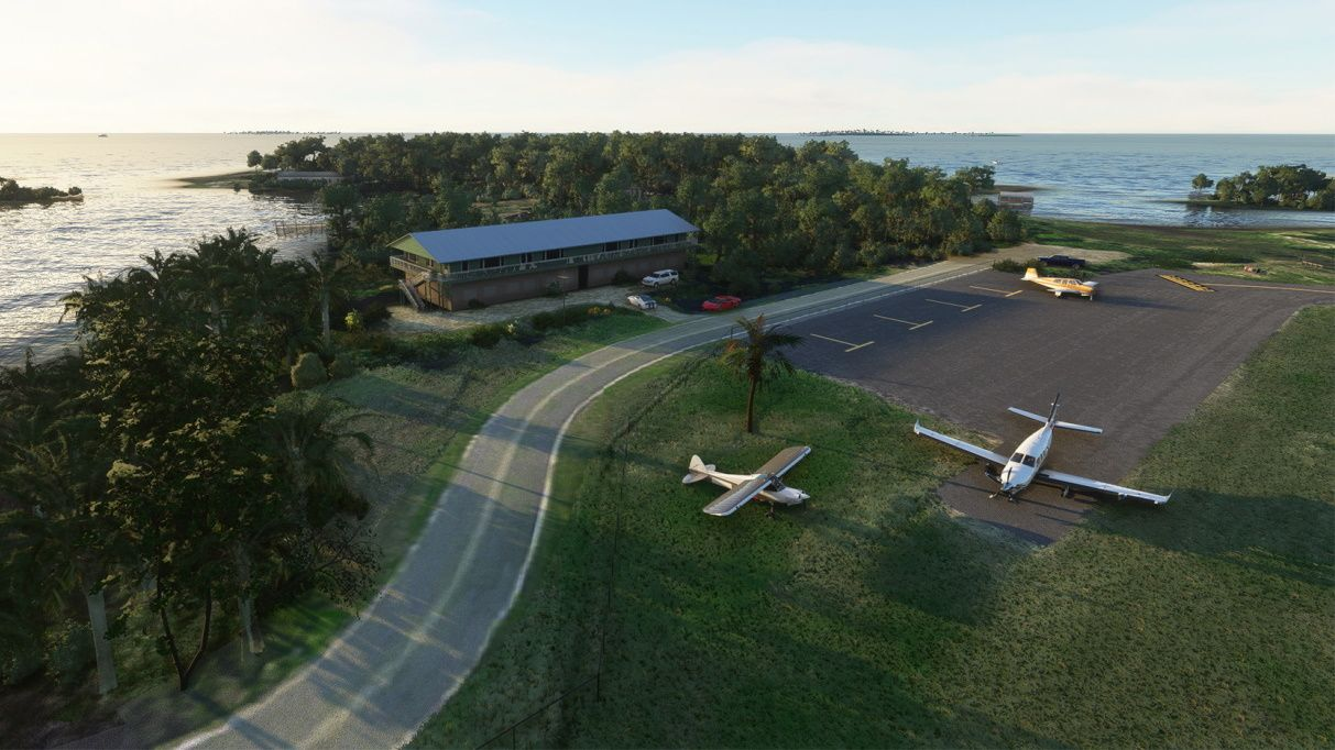 MSFS KCDK: George T. Lewis Airport