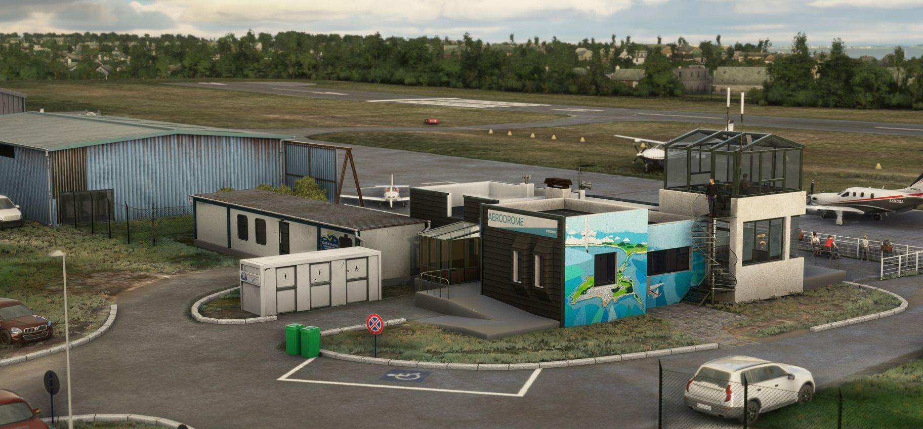 MSFS Quiberon Airport
