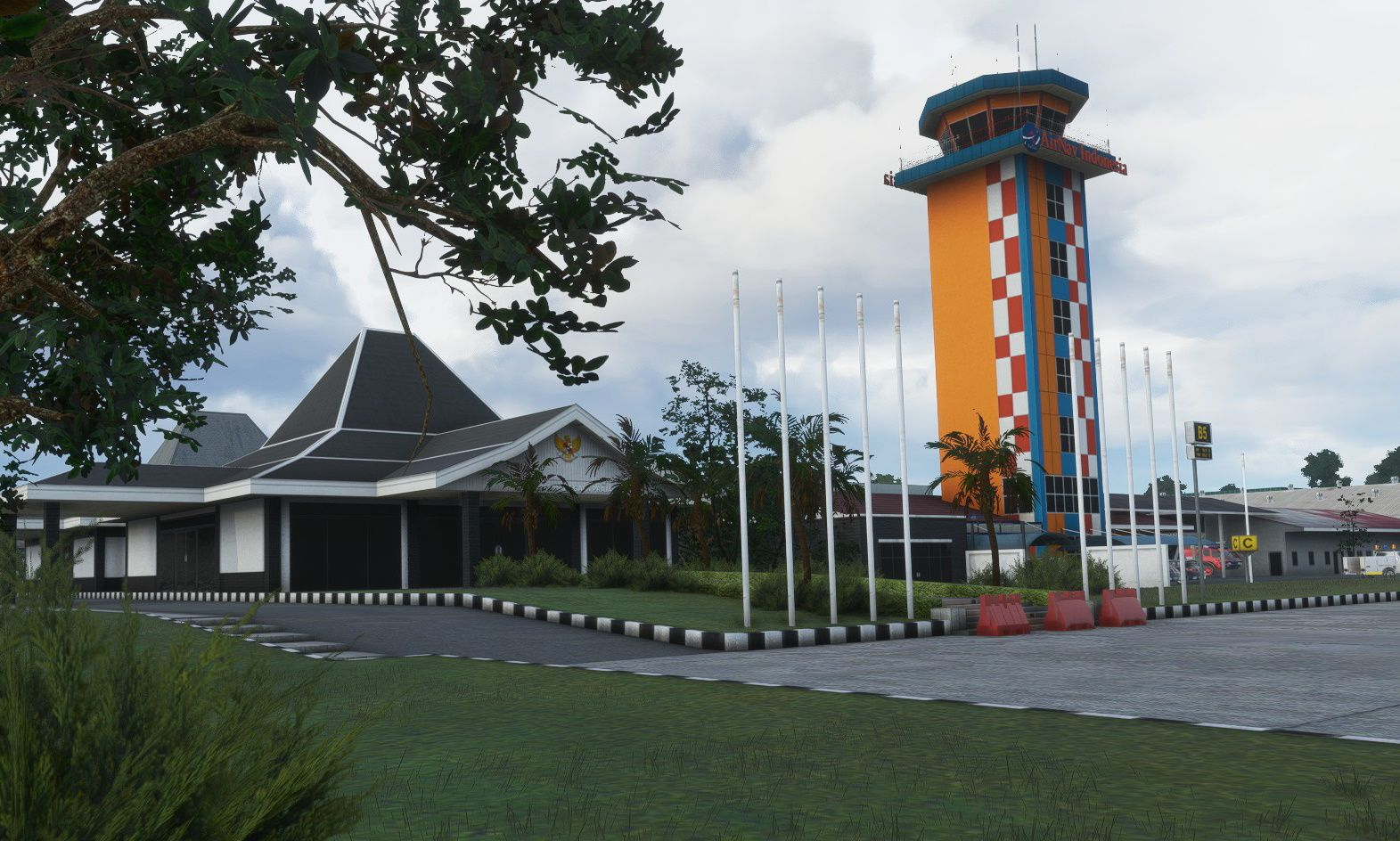 MSFS WIHH Halim Perdanakusuma International Airport