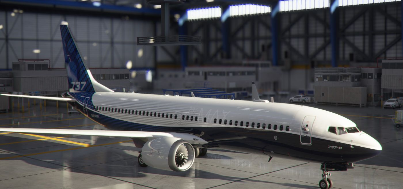 MSFS Boeing 737 MAX