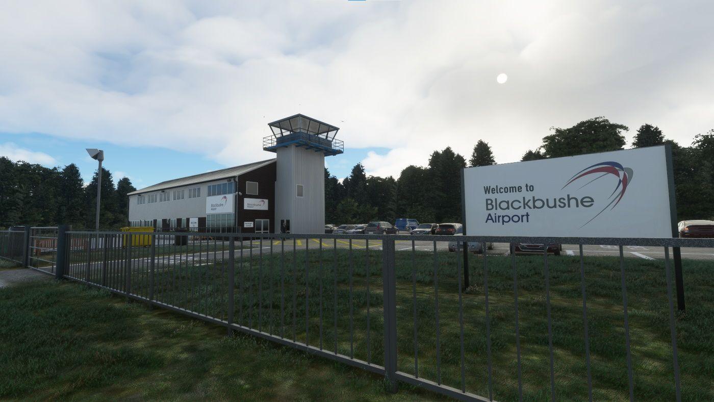 MSFS EGLK Blackbushe Airport