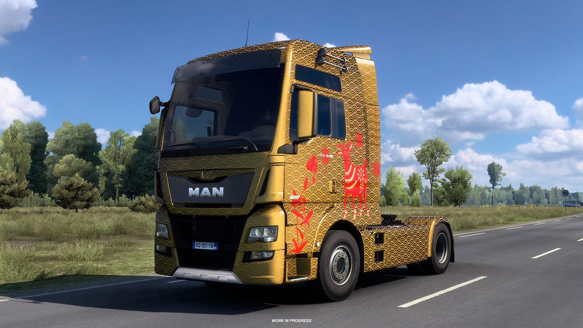 Euro Truck Simulator 2 - Lunar New Year Pack