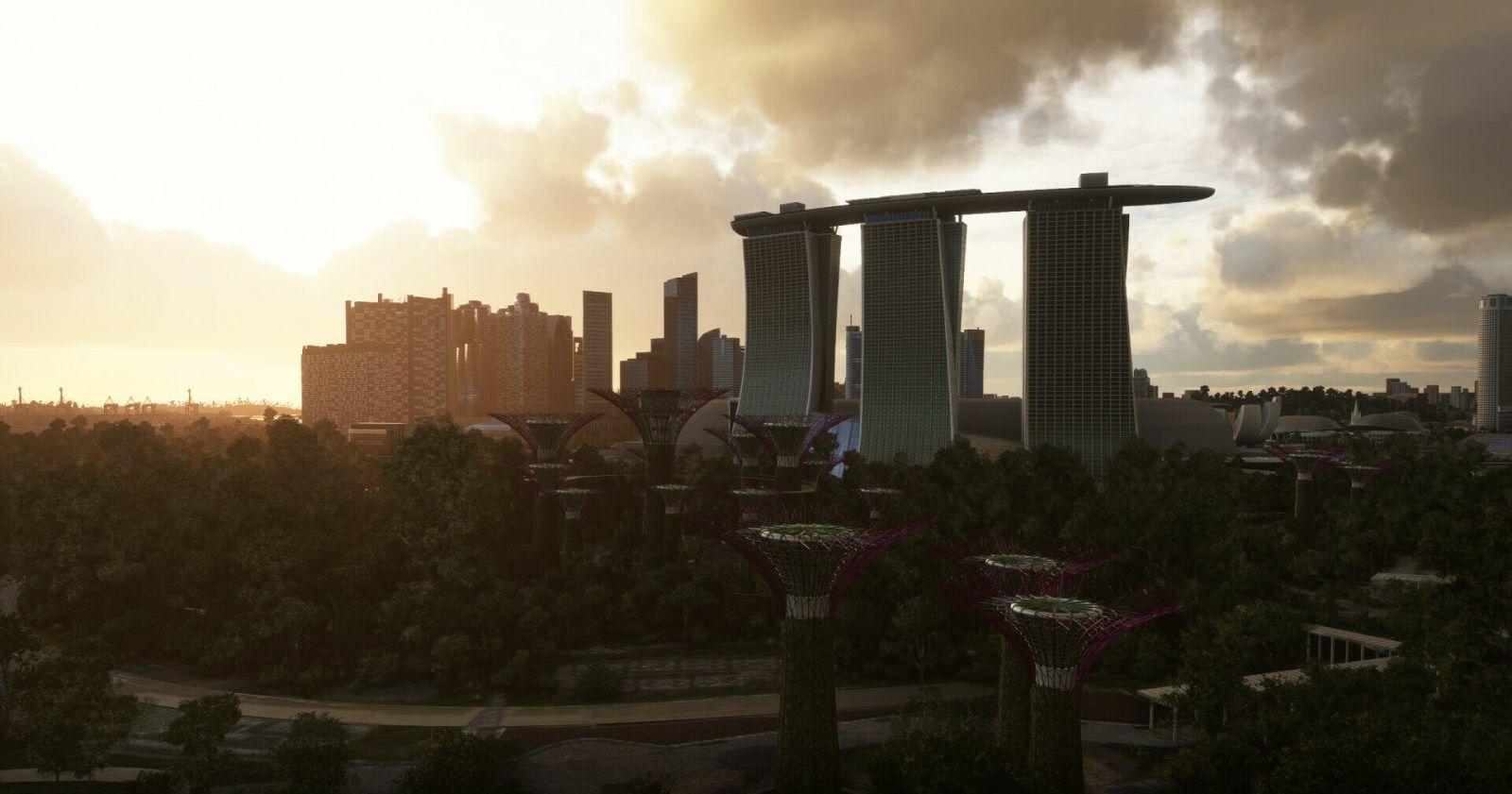 MSFS Landmarks Singapore City Pack