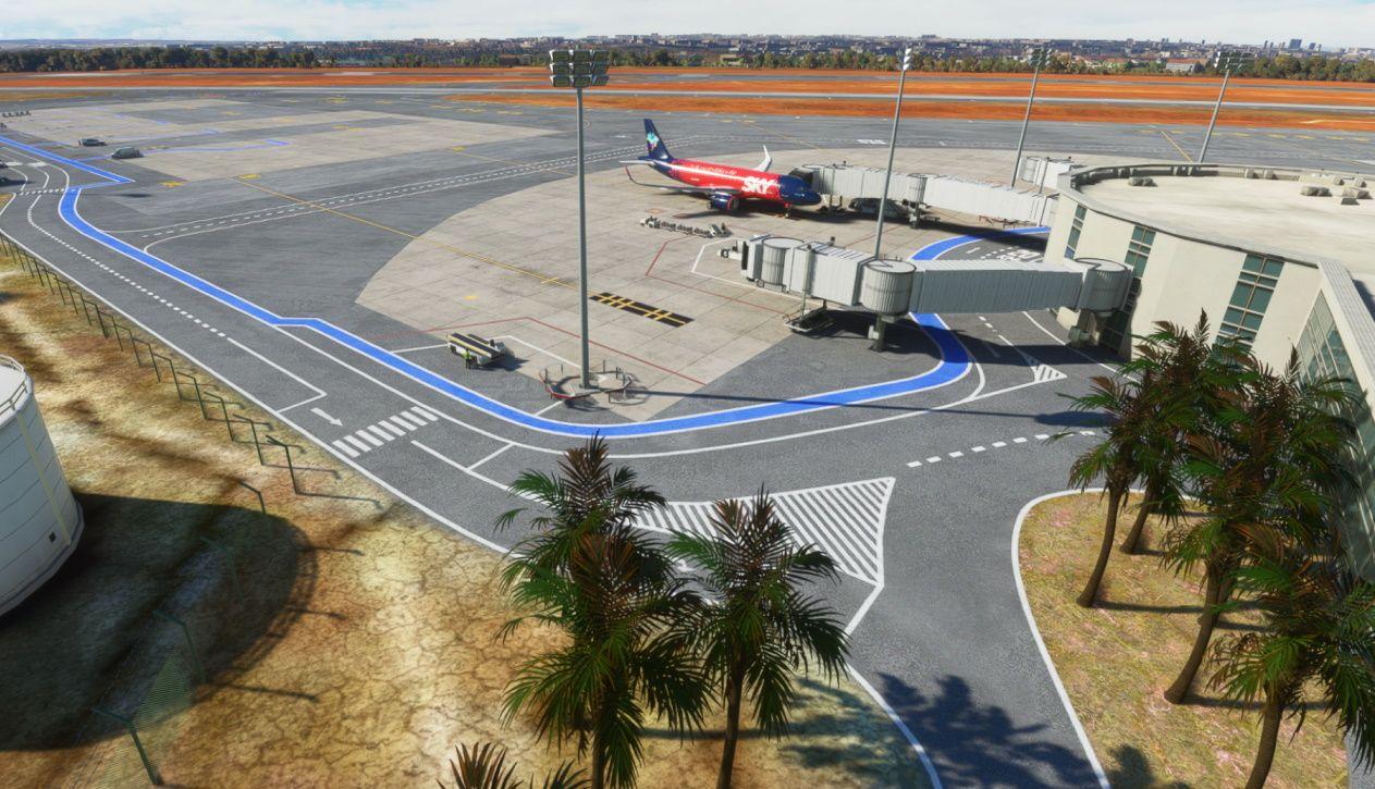 MSFS SBBR Brasília International Airport