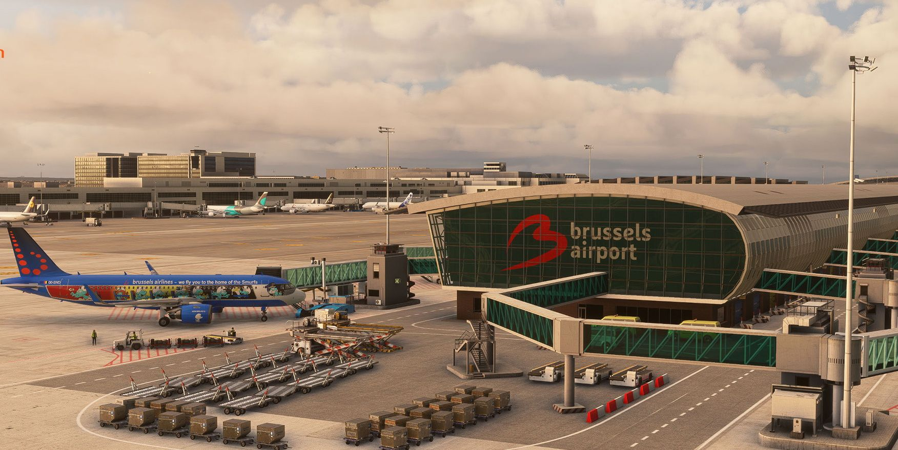 MSFS EBBR Brussels Airport