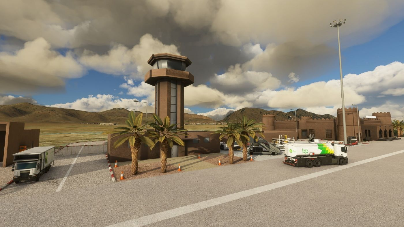 MSFS GMFB Bouarfa Airport