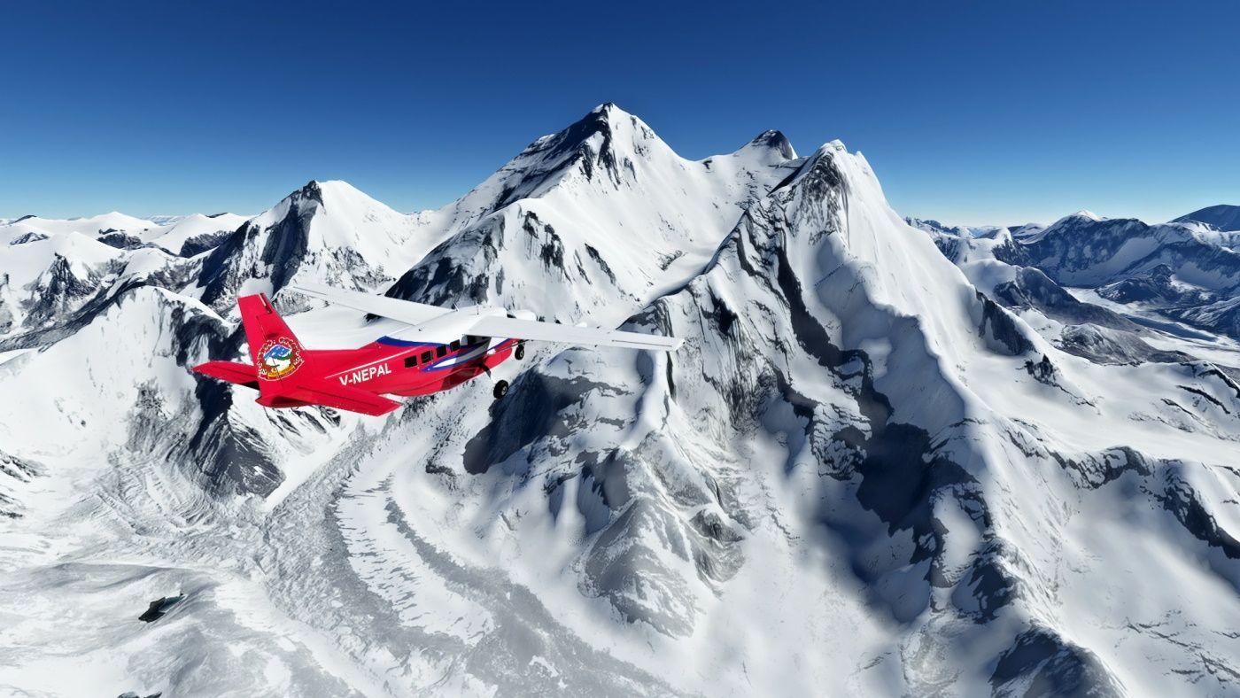 MSFS Flying Nepal