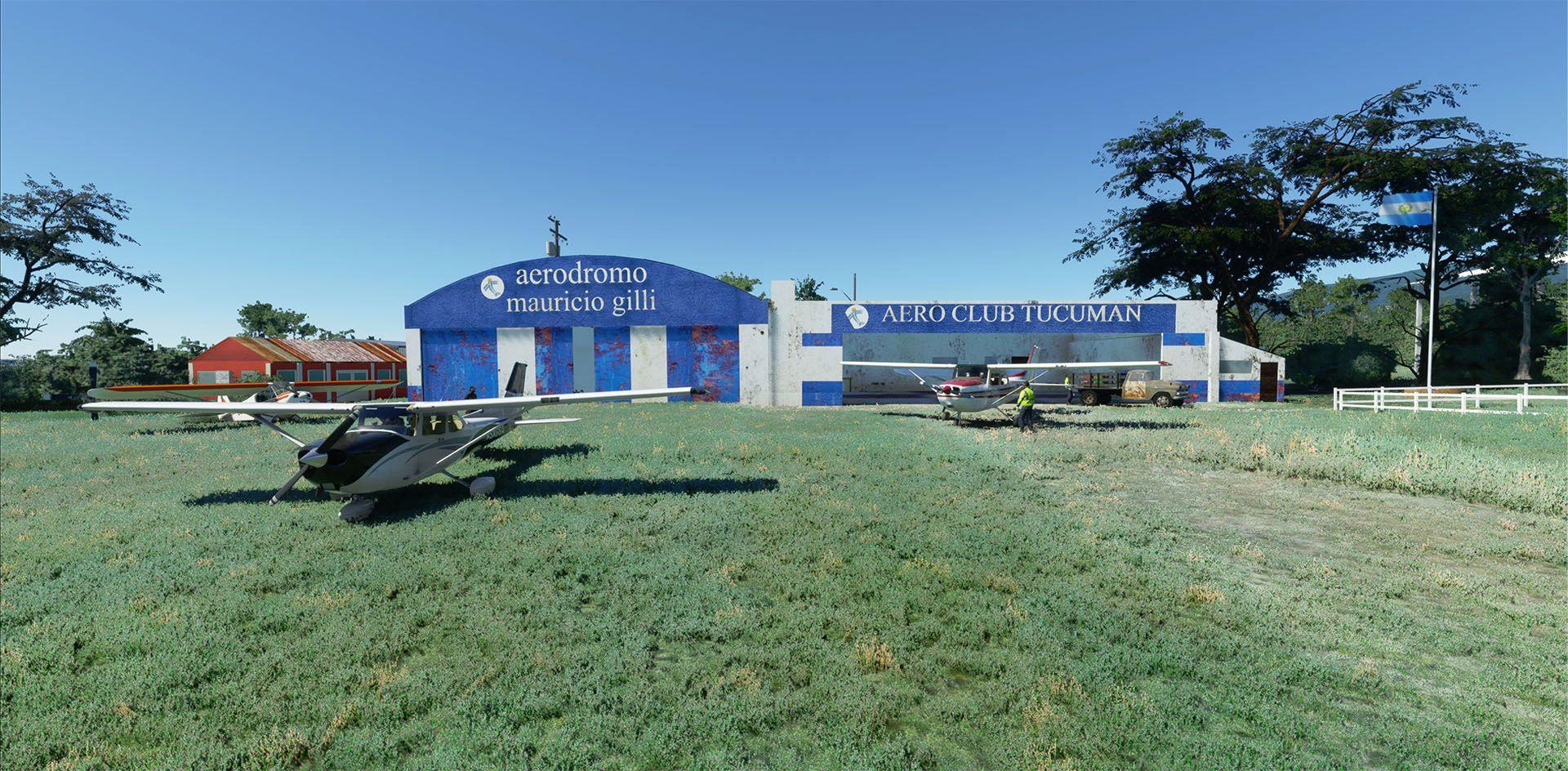 MSFS Horco Molle Aeroclub