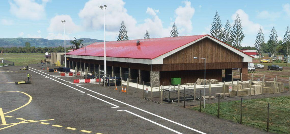 MSFS PHMK Molokai Airport