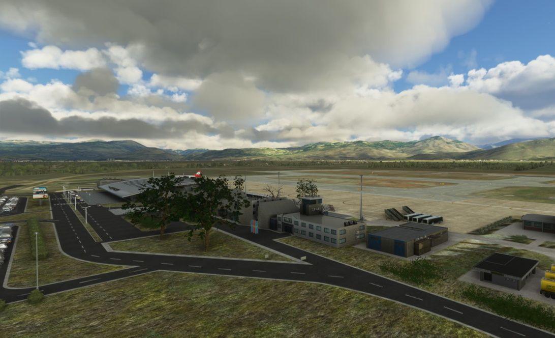 MSFS LYPG Podgorica Airport