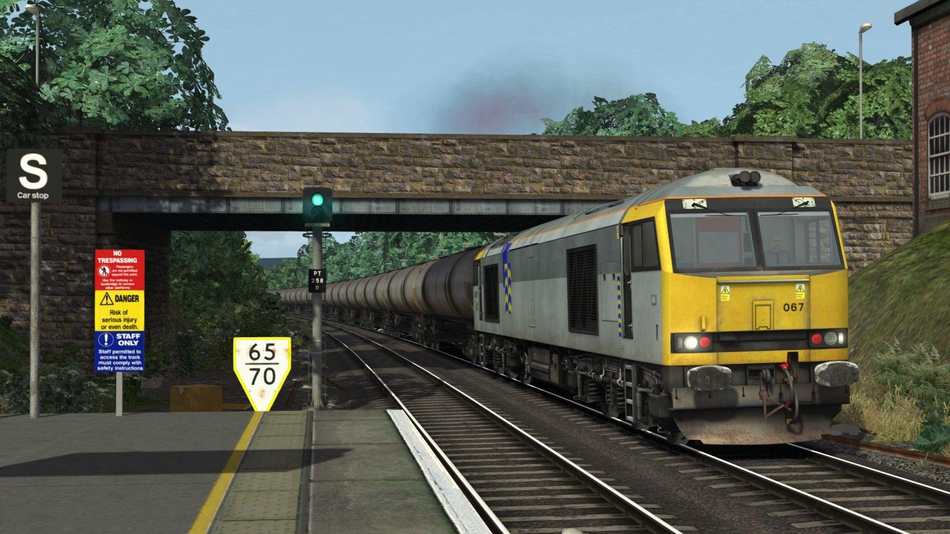 Train Simulator Trainload BR Class 60