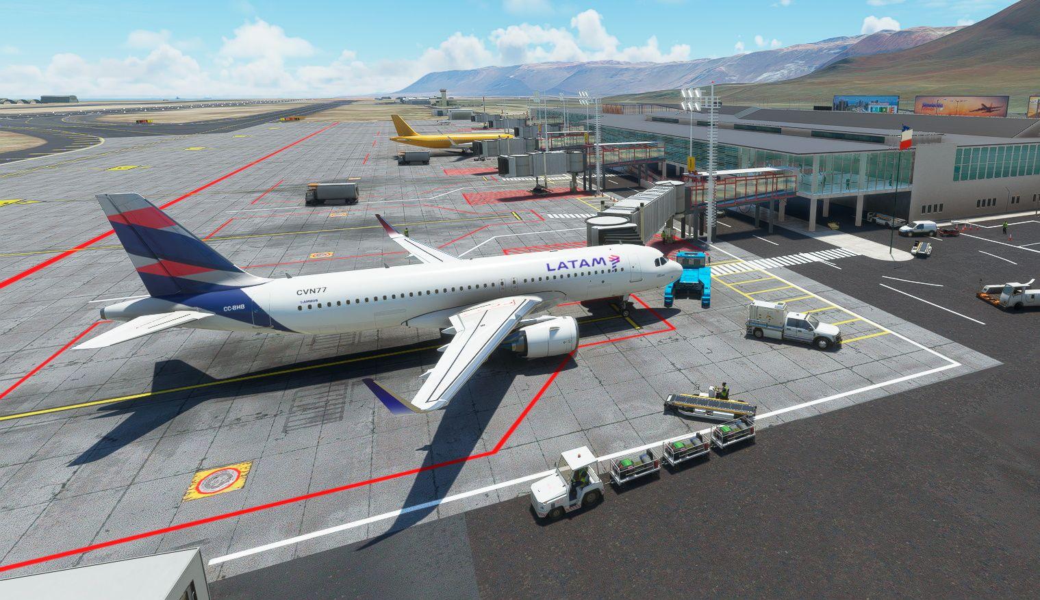 MSFS SCDA Diego Aracena International Airport