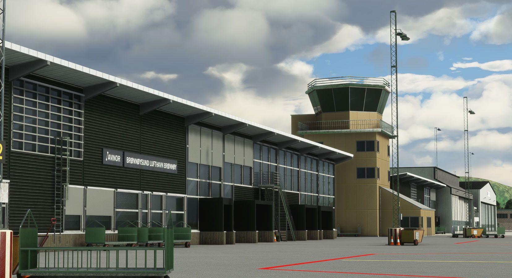 MSFS ENBN Brønnøysund Airport