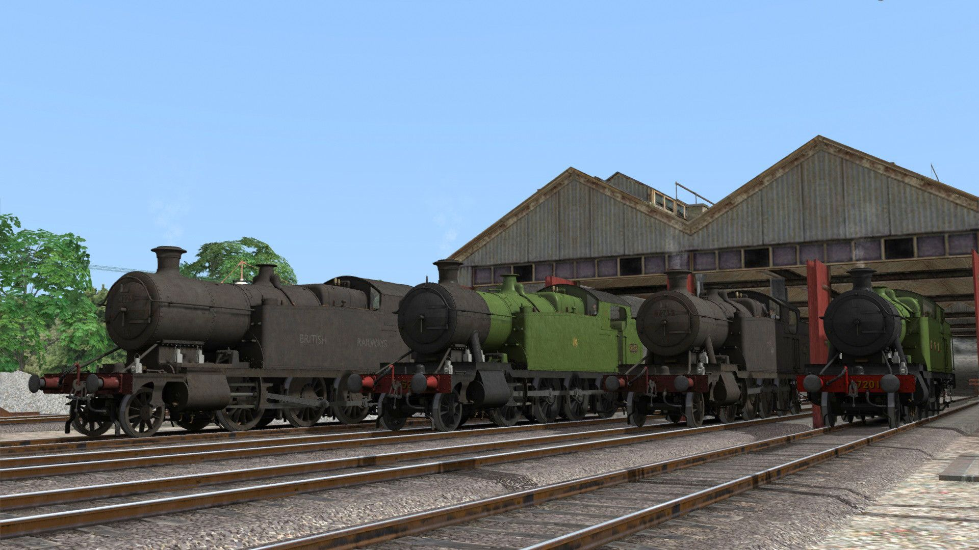 Train Simulator GWR 4200/5205/7200 2-8-0T Pack
