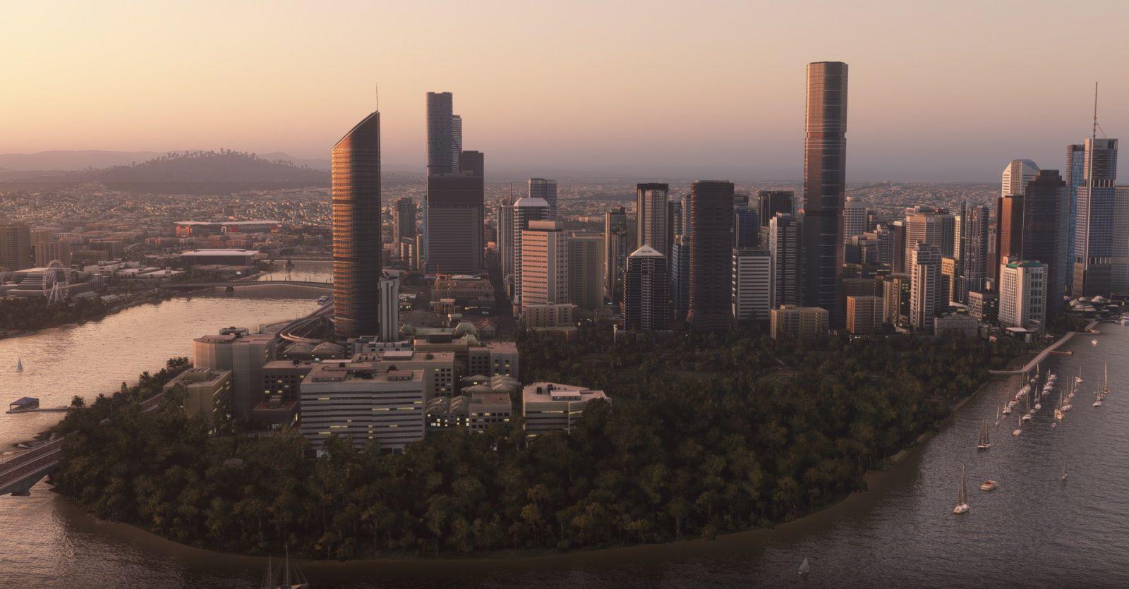 MSFS Landmarks Brisbane City Pack