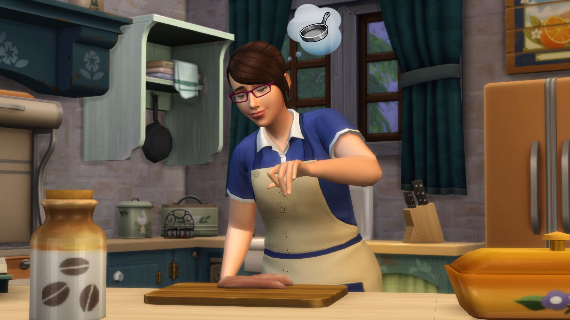 """The Simsâ""""¢ 4 Country Kitchen Kit"""