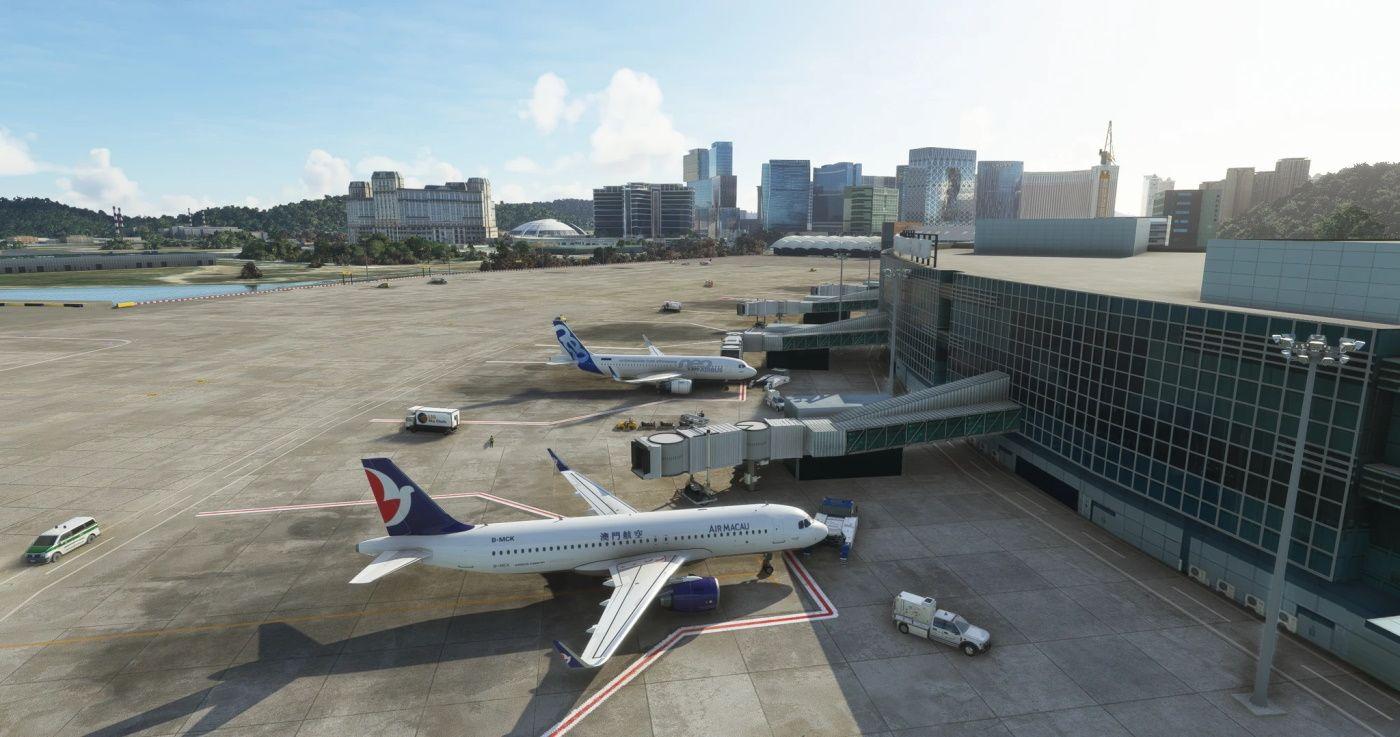 MSFS VMMC Macau International Airport