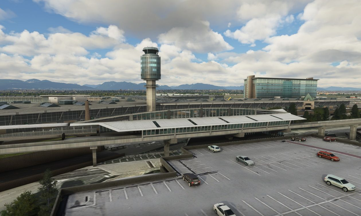 MSFS CYVR Vancouver Intl Airport