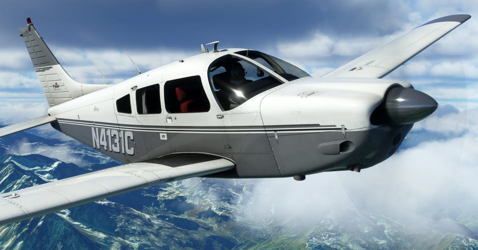 MSFS Piper PA-28R Arrow III