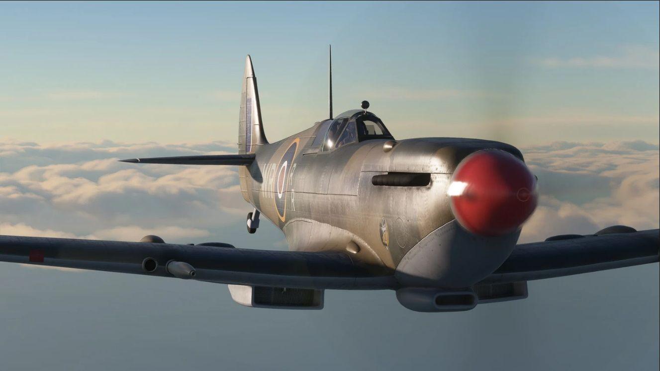MSFS Supermarine Spitfire L.F Mk IXc