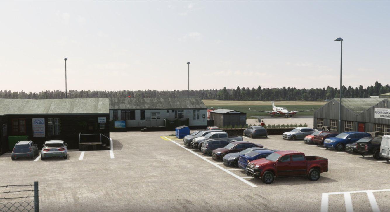 MSFS EGSG Stapleford Aerodrome