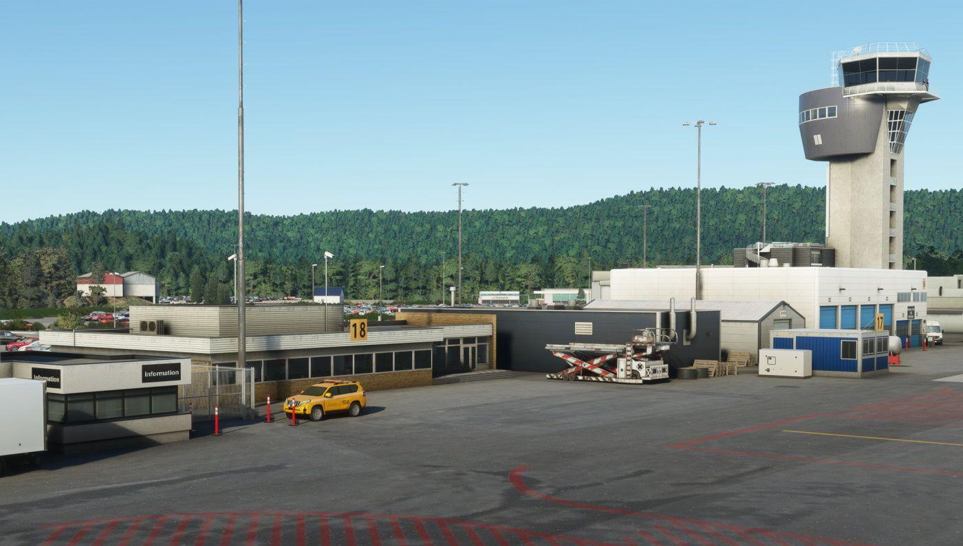 MSFS ENCN Kristiansand Airport